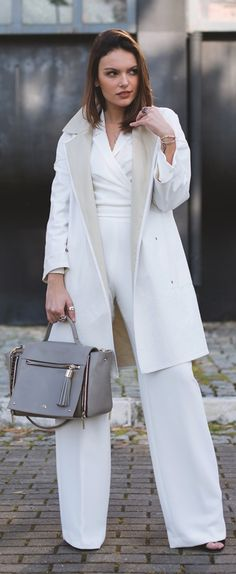 All In White Outfit Idea
