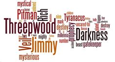 Jimmy Threepwood Word Cloud  Great book for children' ~ Jamie Owen 'Great young fantasy novel, in the vein of Harry Potter and Percy Jackson suitable for young readers and adults, thoroughly enjoyable.' 'Wow what a great book I bought this book for my nephew at a book signing. I started to read it and could not put it down, what a story can't wait for the second book great cliff-hanger ending.' ...Even Hereos Do Bad Things