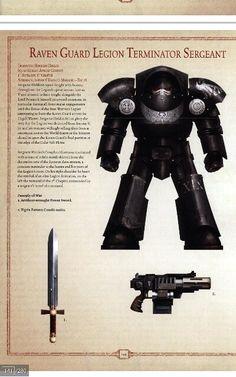 Raven guard terminator sarg