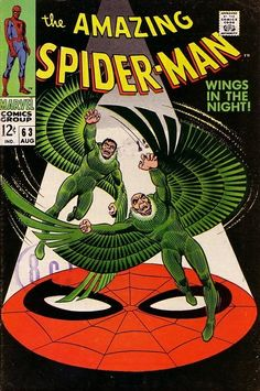 The Amazing Spider-Man #63 - Wings in the Night!
