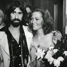 On this day in 1974, Peter Wolf from The J Geils Band  married actress Faye Dunaway in Beverly Hills