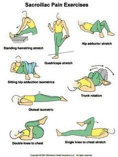 Sacroiliac Joint Rehabilitation Exercises   EXERCISE FOR SACROILIAC PAIN SYNDROME