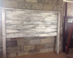 Rustic Headboard Lane By Reclaimvintagecharm On Etsy