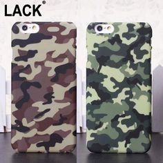 Top Quality Retro Cool Fashion Army Camouflage Fundas Case For iPhone 5S 5 6 6S Plus Ultra Thin Cover For iPhone SE Phone Cases