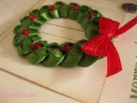 Totally Tutorials: Tutorial - How to Make a Christmas Ribbon Wreath