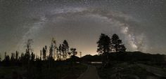 #bright #colorado #cosmos #landscape #lights #milky way #night sky #outdoors #panorama #rocky mountain national park #scenic #space #starry #stars #usa