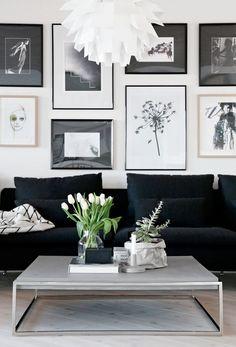 Nina Holst y su apartamento estilo nórdico. Desde Noruega con mucho amor