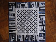String Baby Quilt