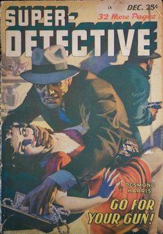 Super Detective, Dec. 1948 - H.J. Ward