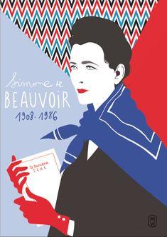Simone-Beauvoir--diglee-cartes