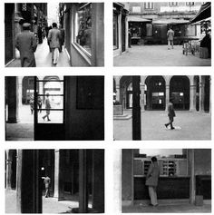 Sophie Calle 'Suite Venetienne' 1980, a project where she followed people. This is an interesting idea as she is making a record of where they have been, so that they can't forget.
