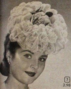 1940s Hats History - 20 Popular Women's Hat Styles