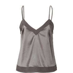 Whether worn as stylish loungewear or as a luxe layering piece, this silk camisole from La Perla is a lovely addition to any wardrobe - V-neckline, adjustable …