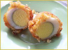 Uova di quaglia impanate http://dirittierovesci.blogspot.it/2010/11/autunno.html