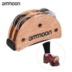 Foot Percussion     Tag a friend who would love this!     FREE Shipping Worldwide     Get it here ---> https://www.hobby.sg/ammoon-elliptical-cajon-box-drum-companion-accessory-foot-jingle-tambourine-for-hand-percussion-instruments-burlywood/    #Modeltoys