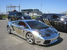 Lamboghini Gallardo in Chrome