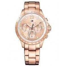 a78fa2c6233 Relógio Tommy Hilfiger Feminino Aço Rosé - 1781642