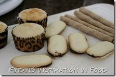 how to make high heel cupcakes | cut a notch out of the top of the cupcake after they where baked and ...