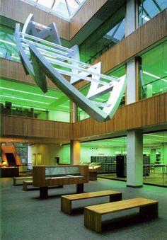 John Crerar Library, University of Chicago, Illinois.