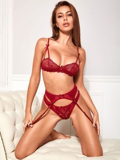 Color : Burgundy Fabric : Polyester Style : Sexy Neckline : U-Neck Occasion : Indoor, Dating The post Printed Polyester Bows 2-Piece Set Sexy Lingerie Bras With Panty appeared first on Power Day Sale.