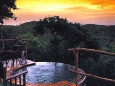Safari lodges at Phinda Private Game Reserve, South Africa