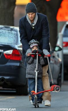 Tom Brady is such an adorable dad!