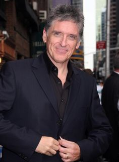 Craig Ferguson, host of the late night show, The Late,Late Show on CBS. This man just cracks me up. Never knew Scots were so funny!