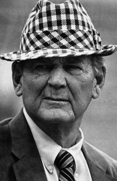 Bear Bryant - legend.