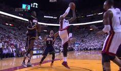 LeBron James Reverse Slam In Traffic (VIDEO)