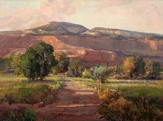Early Summer Evening by Kathryn Stats - Greenhouse Gallery of Fine Art