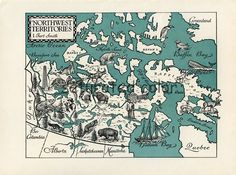 inuvik nunavut map