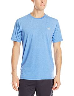 adidas Performance Men's Climacool Aeroknit Two Color Tee, Bold Blue, Medium adidas http://www.amazon.com/dp/B00R57RQ2G/ref=cm_sw_r_pi_dp_iHEaxb0M2RSYY