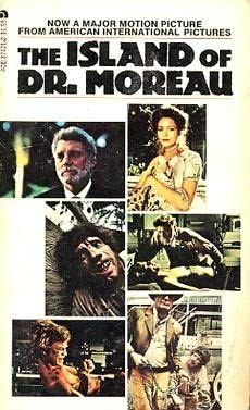The Island of Dr. Moreau by Joseph Silva - ACE Books - adapts the motion picture starring Burt Landcaster & Michael York. Silva also wrote Captain America Holocaust for Hire in the Marvel Novel Series Iconic Movie Posters, Iconic Movies, Great Movies, Roger Waters The Wall, Richard Basehart, Ace Books, Days Of Future Past, Classic Sci Fi, Horror Movies