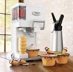 Cuisinart Mix It In Soft-Serve Ice Cream Maker Wannnnt :)