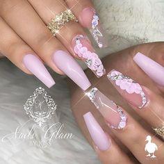 Pink Nail Designs, Short Nail Designs, Nails Design, Acrylic Nails At Home, Best Acrylic Nails, Cute Toe Nails, Diy Nails, Matte Pink Nails, Nail Art Techniques