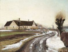 Laurits Andersen Ring - Winter sunshine 1908