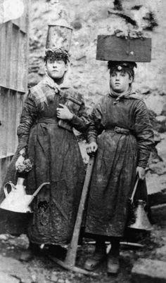 Women coal miner 1890