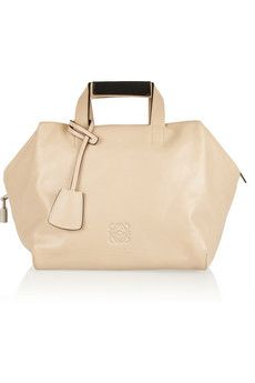 Loewe Origami Cubo leather tote   NET-A-PORTER