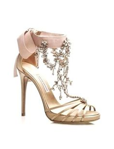 wedding shoes!  I think if u had a champagne wedding ring these are cool...like wear same colors on hands & feet!!! lol