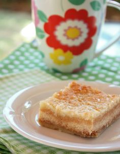 Coconut Custard Bars