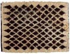Get curious with this Curiosities Textile Mohair Rug by Golran