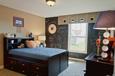 Looking for a perfect room for that basketball player in your family? The Clayton plan, a new home built by Fischer Homes. The Overbrook Farms community. Carmel, IN.