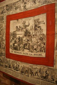 Château de Martainville, Musée des traditions et arts normands:foulard utile