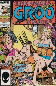 groo the wanderer | Groo the Wanderer 28 - Marvel - Sergio Aragones - Wanderer - Sword ...
