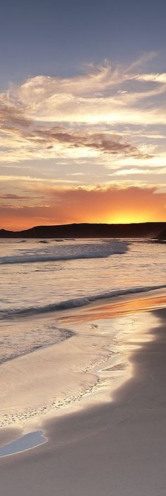 Sunset on Twilight Beach, Esperance, Western Australia Beautiful Sunset, Beautiful Beaches, Beautiful World, Image Nature, All Nature, Nature Images, Nature Pictures, I Love The Beach, Ocean Beach