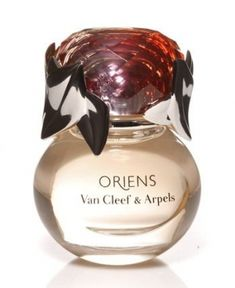 Oriens by Van Cleef & Arpels is a sweet, fruitchouli Chypre Floral fragrance with mandarine orange, black currant and raspberry in the top. Jasmine and white floral notes in the middle. Patchouli, praline, amber and vanilla in the base. - Fragrantica