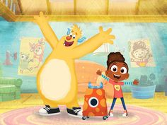 Nelvana locks in more airtime for Esme & Roy Feeling Scared, Disney Junior, Animation Series, North Africa, New Series, Southeast Asia, Picture Video, Pikachu, Disney Characters