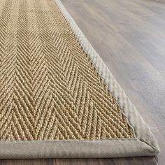 safavieh casual natural fiber natural grey seagrass area rug 9u0027 x 12u0027 by safavieh - Seagrass Rug