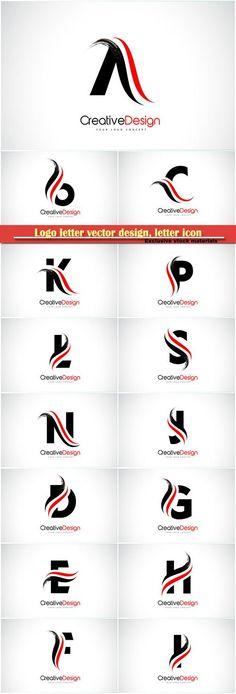 Logo letter vector design, letter icon # 6