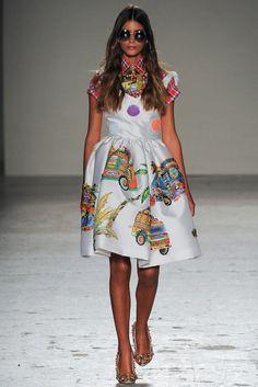 Stella Jean ~ S/S 2015 ~ Milan Fashion Week
